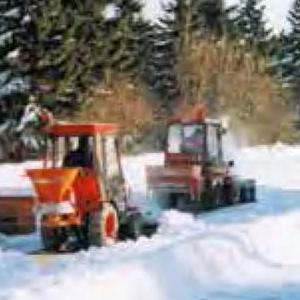 A-Bulb masivní trhací nýt ve strojích pro zimní údržbu