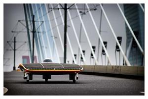 mobilní solarní panel