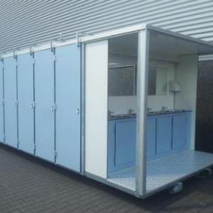 Samouzavíratelné dveře toaletních kabin - pant s pružinou