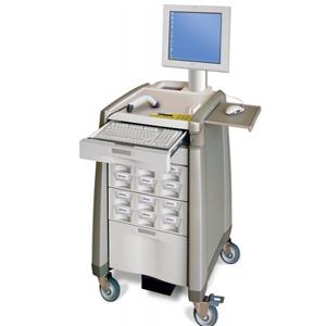 Elektromechanický uzávěr ve skříňce na léky