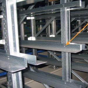 trhací nýty multigrip ve skladovacích systémech