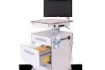 Lékařský vozík-zásuvky push to close
