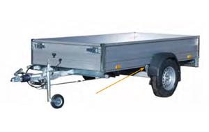 hliníkový trhací nýt M-Lok v konstrukci vozíku