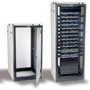 čtvercový rychlouzávěr NY v serverových skříních