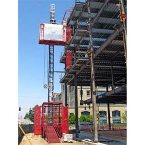 čtvrtotáčkový rychlouzávěr D8 PANEX ve stavebním výtahu