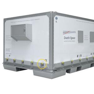 Upínací uzávěry v přepravních kontejnerech