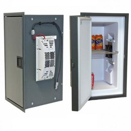 uzavření vestavěné lednice