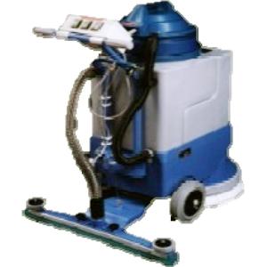 Uzavření servisního poklopu - čistící stroj