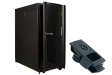 Západkový plochý uzávěr (A3) v serverové skříni