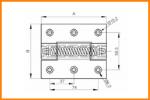Panty s pružinou - technické informace  a CAD soubory ke stažení