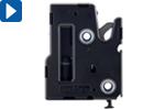 Zaskakovací uzávěr, elektromechanické odemykání, dveřní senzor (R4-EM 9)