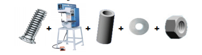 lis + lisovací upevňovací prvky